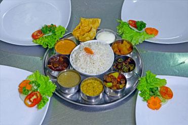 Jaffna Style Vegetarian Meal