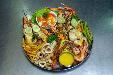 Sea Food Platter – A 'la Golden Grill