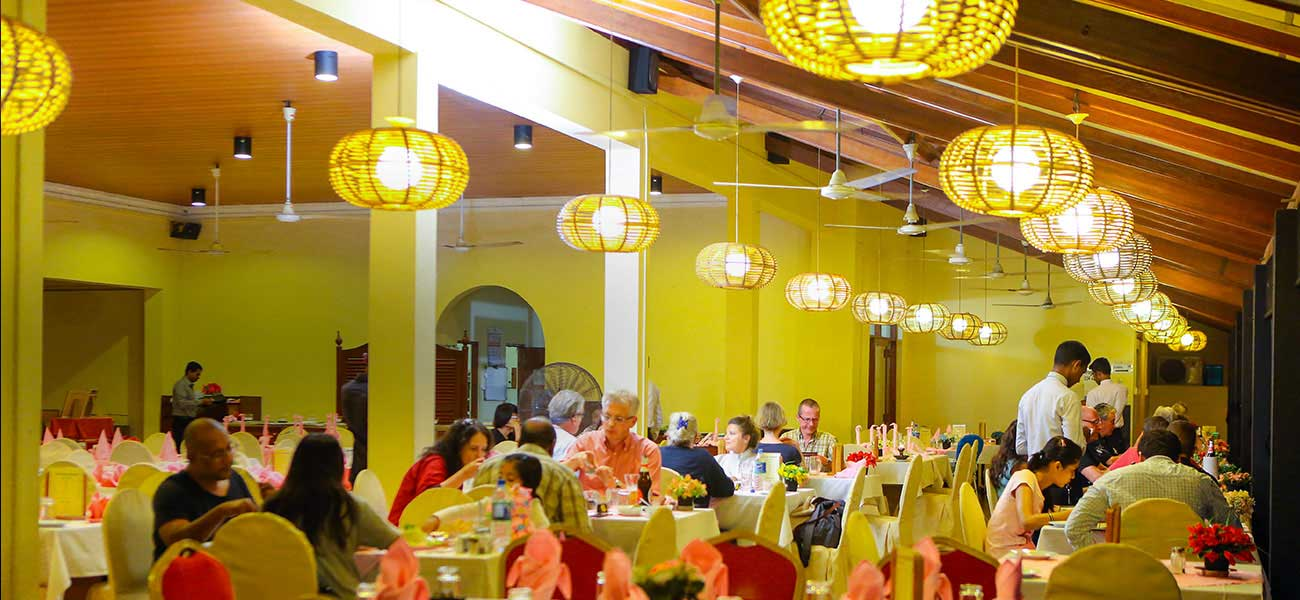 Dining experience in coastal Bentota