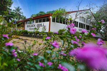 Ariel view of Golden Grill Bentota
