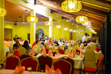 Dining experience of guest in Golden Grill Restaurant Bentota